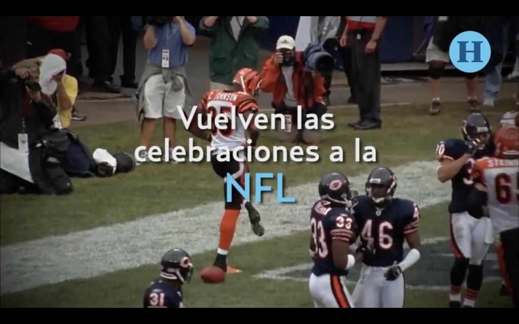 Adiós a los castigos por celebrar en la NFL