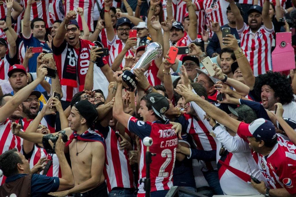 Con un marcador de 2 a 1 las Chivas del Guadalajara se coronaron campeones del Clausura 2017 ante los Tigres de la Autónoma de Nuevo León. FOTO: GALO CAÑAS /CUARTOSCURO