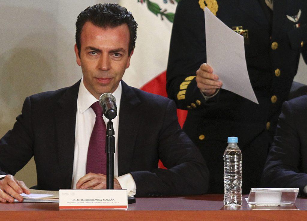 Alejandro Ramírez Magaña. Foto: Cuartoscuro