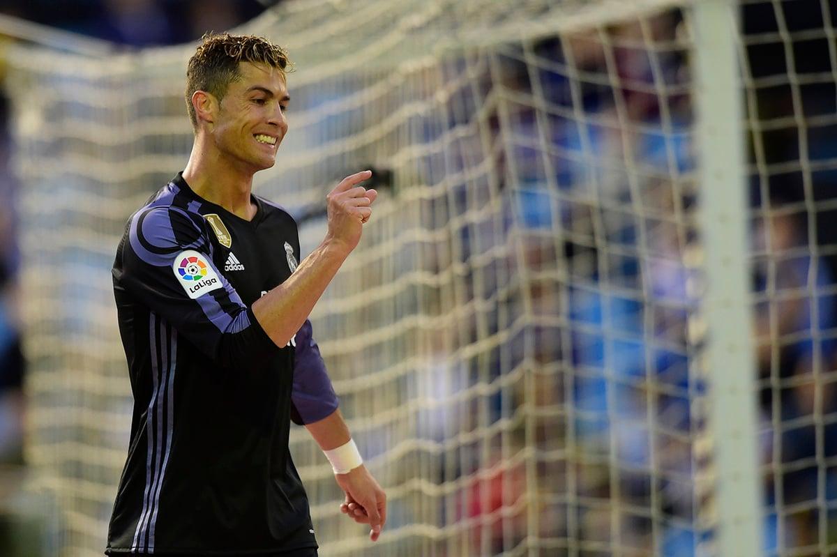 FOTO AFP. Cristiano Ronaldo marcó doblete