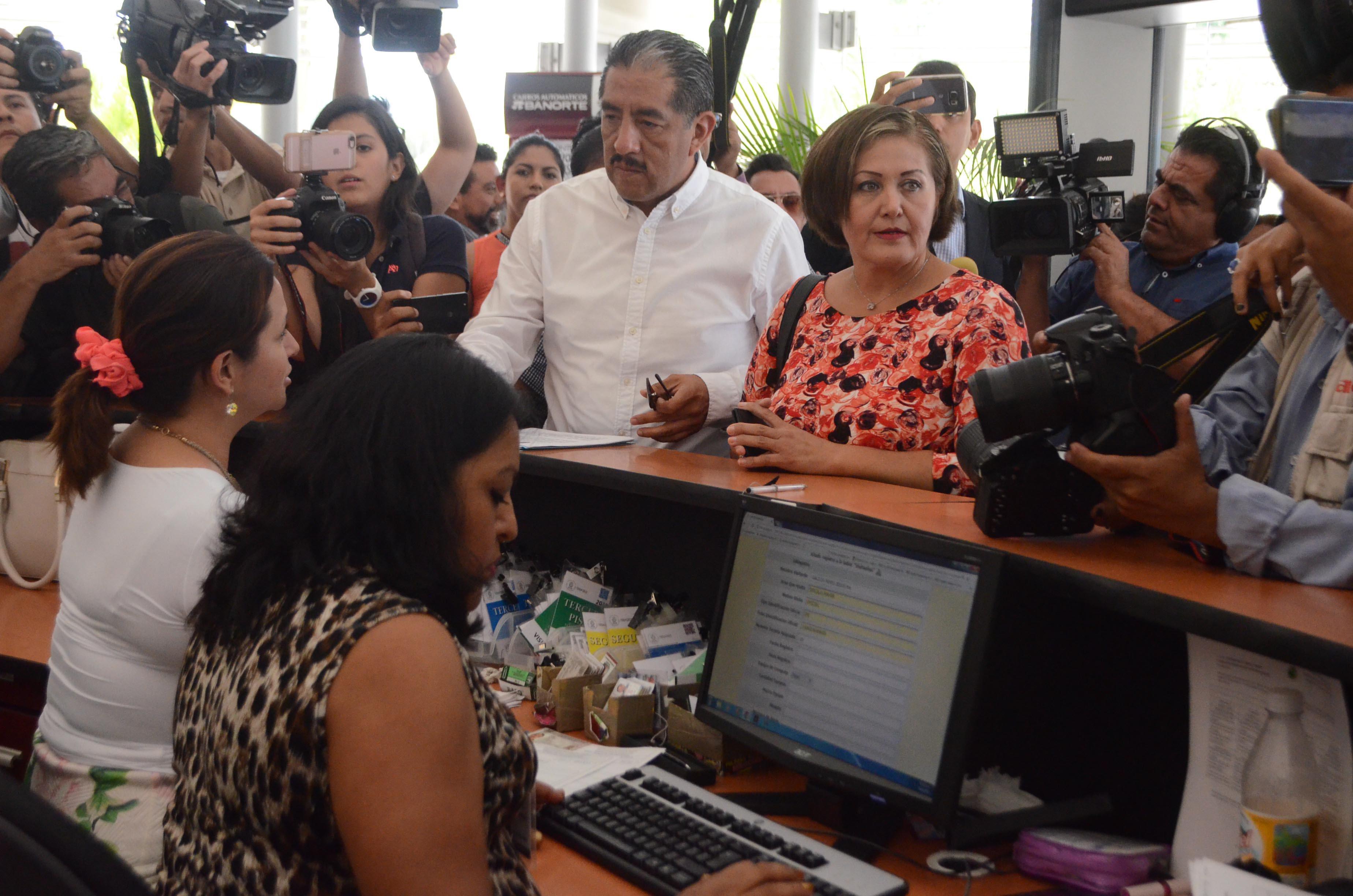 La diputada local de Morena Eva Cadena.  FOTO: ALBERTO ROA/ CUARTOSCURO