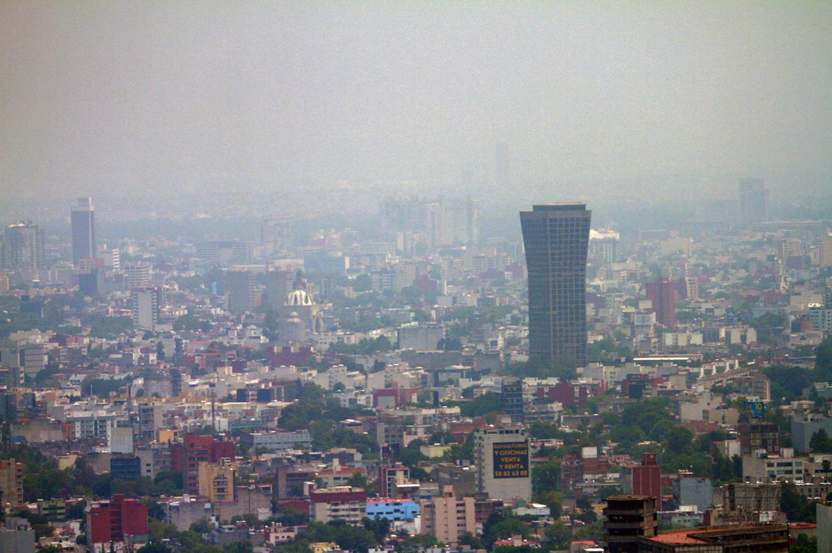 FOTO NOTIMEX Se registró muy mala calidad del aire en la zona centro