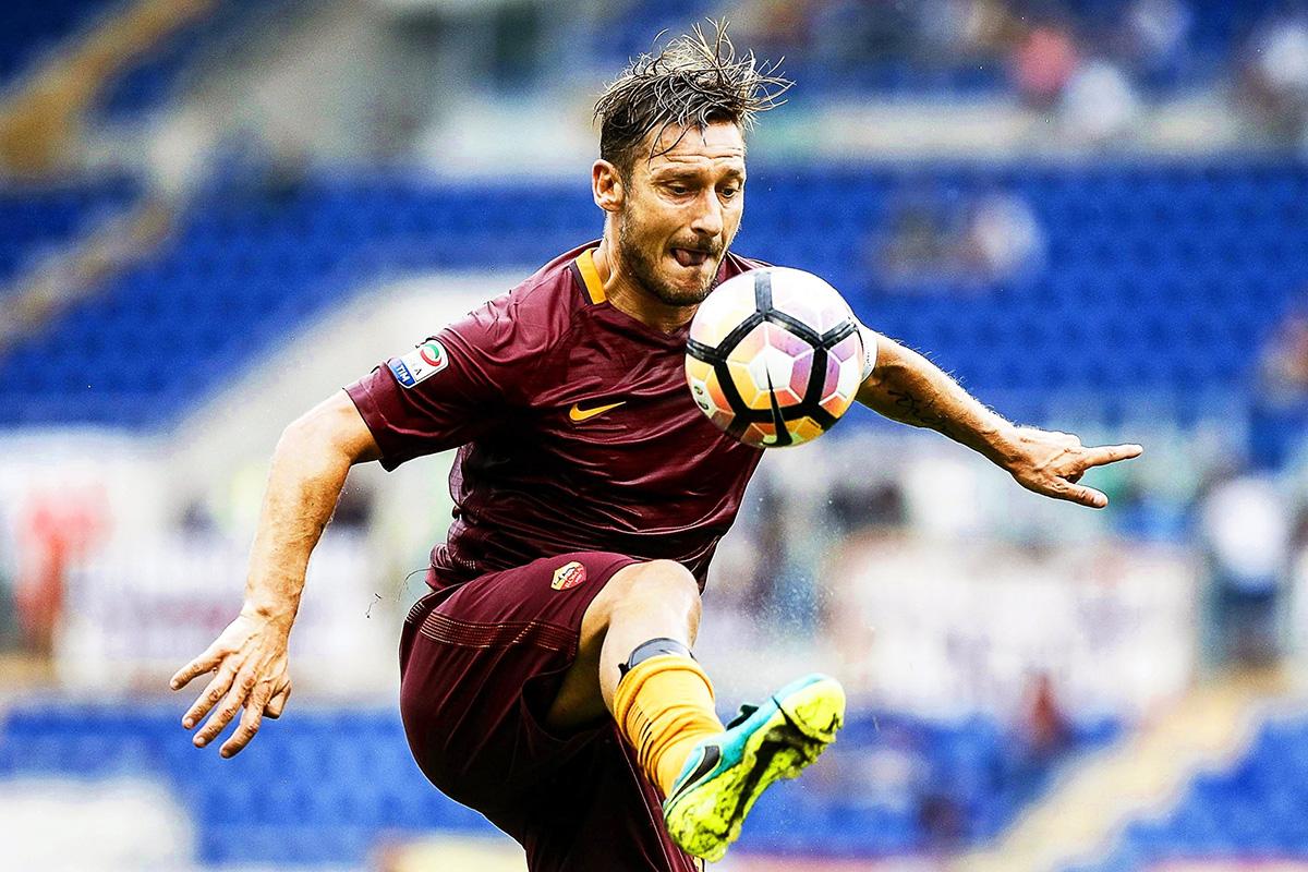 FOTO EFE Francesco Totti jugó toda su carrera con