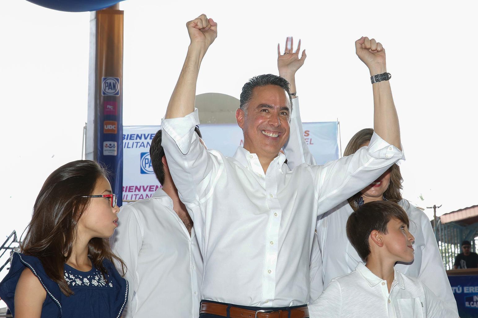 Guillermo Anaya se registró en marzo como candidato de la Alianza Ciudadana por Coahuila. FOTO: CUARTOSCURO