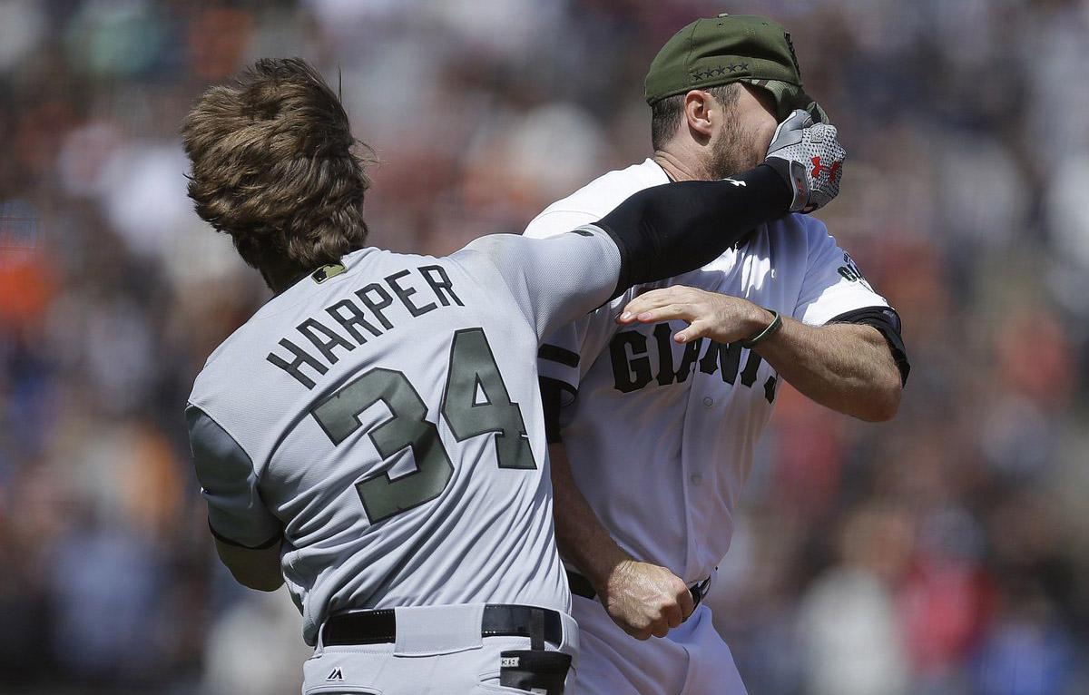 FOTO AFP. Las rencillas entre ambos peloteros datan desde los playoffs del 2014