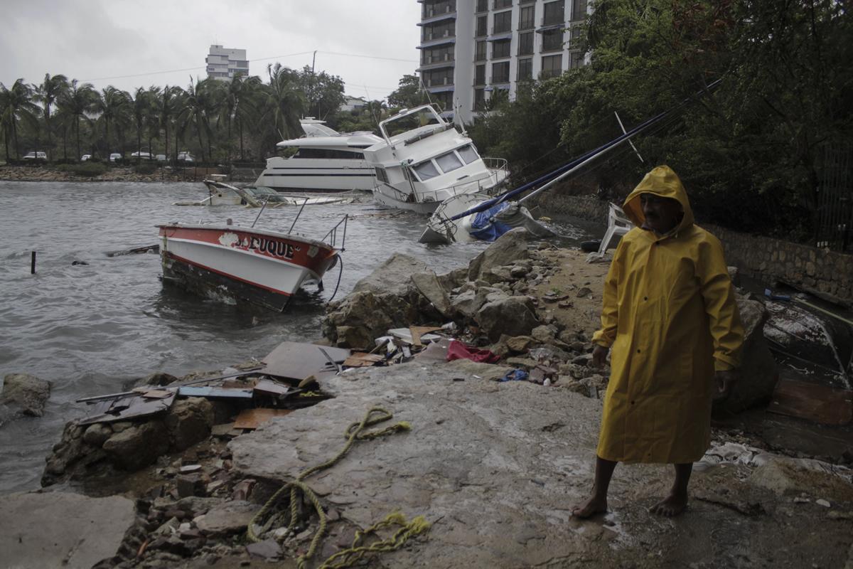 Desastres naturales. Foto: Cuartoscuro