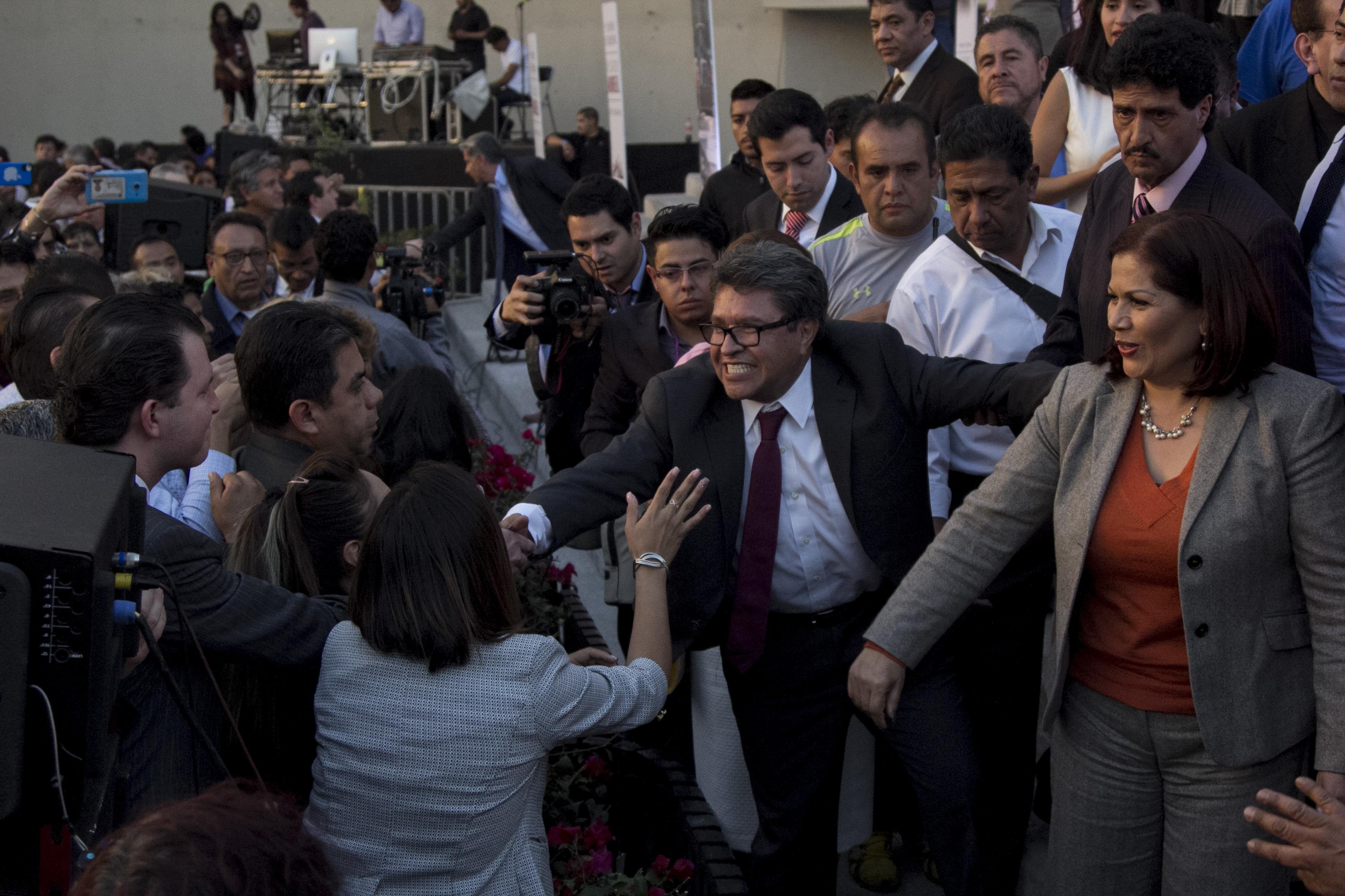 Ricardo Monreal, jefe delegacional en Cuauhtémoc. FOTO: GALO CAÑAS /CUARTOSCURO.COM