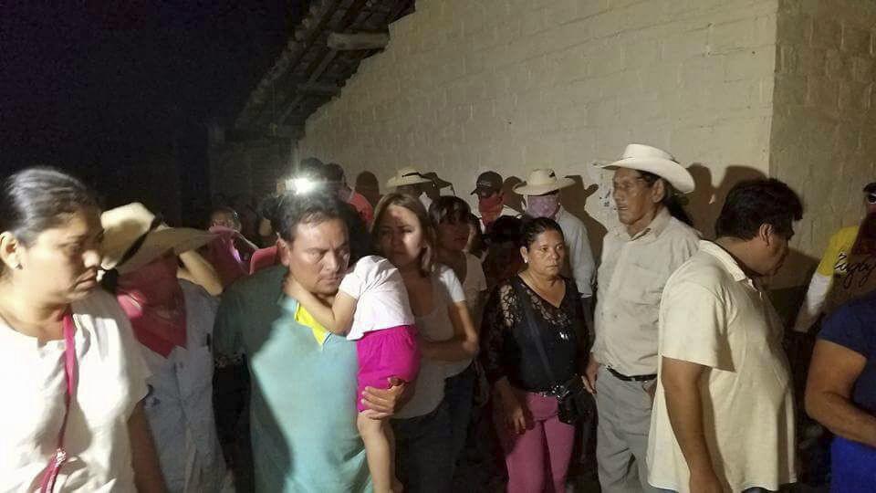 Imagen de diciembre de 2016 del municipio San Miguel Totolapan, donde un ingeniero fue secuestrado y donde este miércoles se enfrentaron pobladores con miembros de La Familia Michoacana. FOTO: CUARTOSCURO