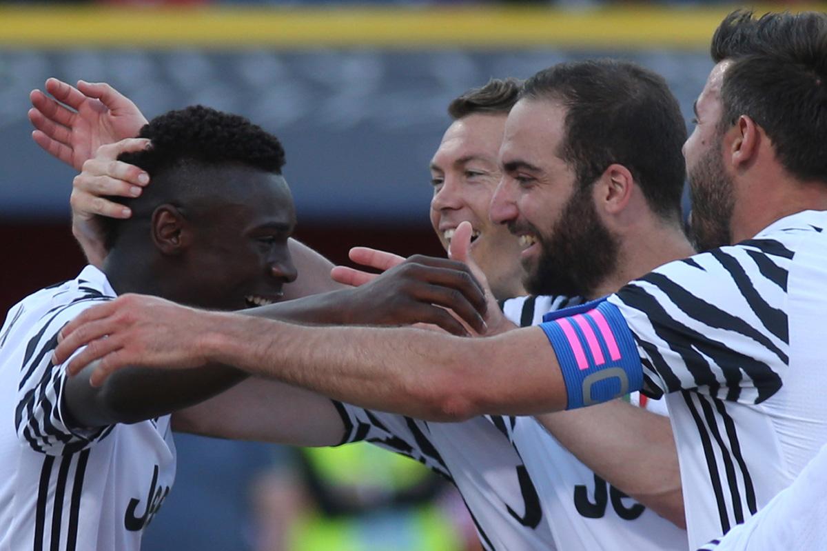FOTO AFP. El joven Moise Kean, de 17 años, marcó el gol de la victoria.