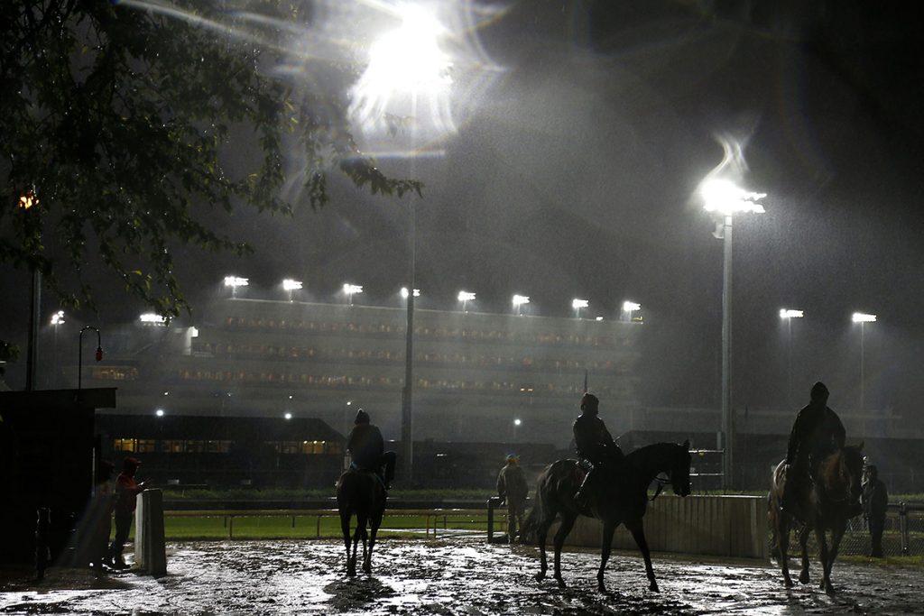 FOTO: AFP. La edición 143 del Derby estará pasada por agua
