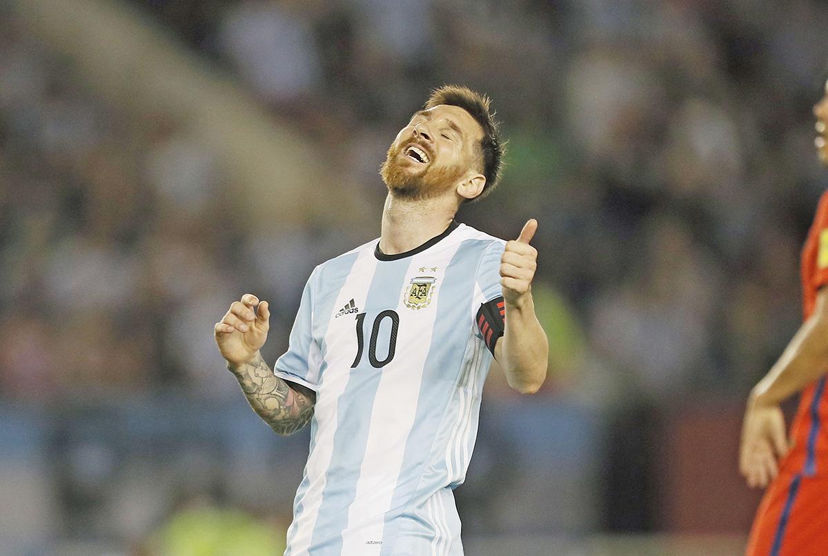 FOTO MEXSPORT. Messi había sido castigado por supuestos insultos a un árbitro asistente