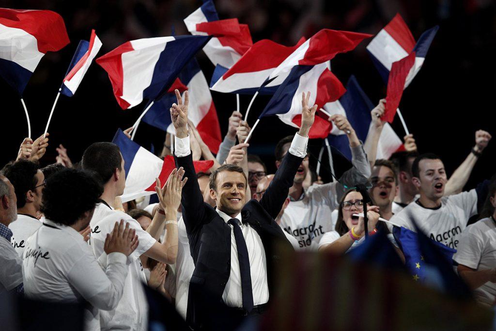 FOTO EFE. Macron señala que buscan desestabilizar los comicios del domingo