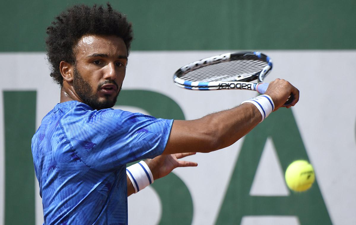 FOTO AFP. El tenista galo tiene 21 años y es 282 del mundo