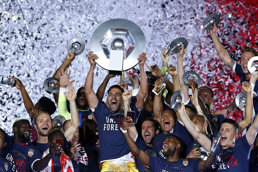 FOTO EFE Mónaco venció 2-0 al Saint Etienne