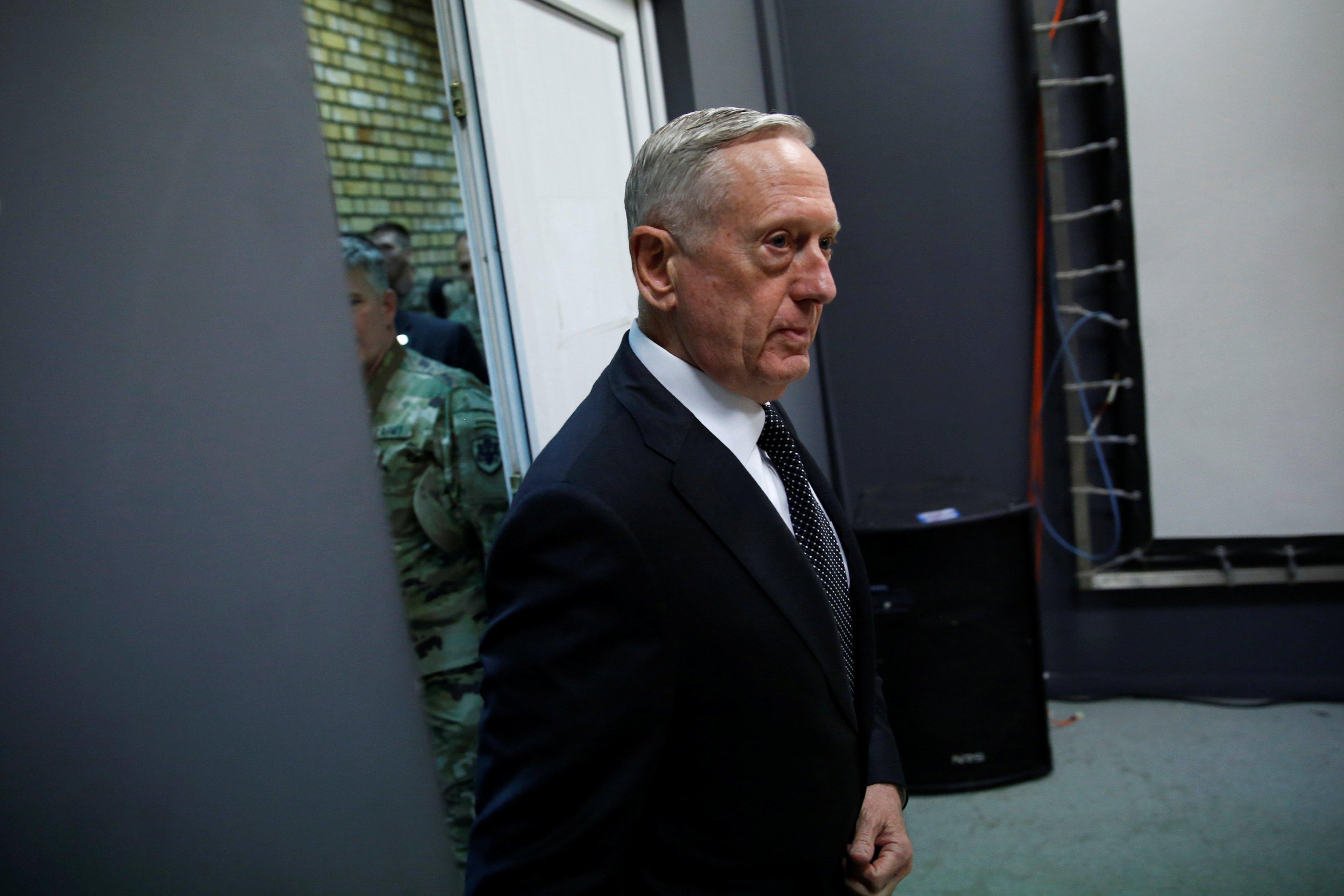 El Heraldo de México. James Mattis, secretario de la Defensa de Estados Unidos. REUTERS/Jonathan Ernst