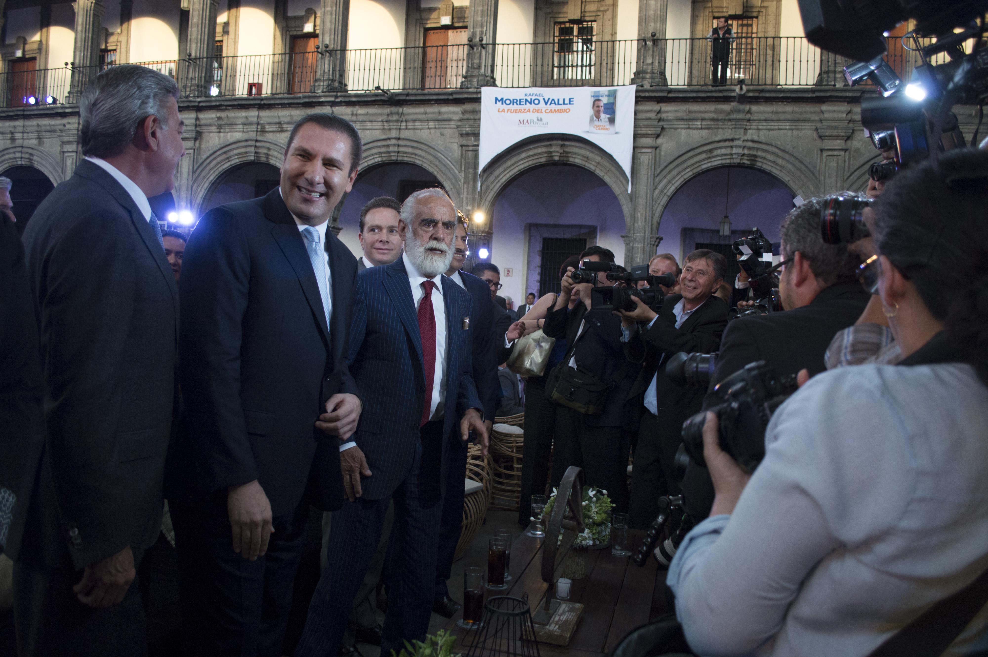 Rafael Moreno Valle, ex gobernador del estado de Puebla. FOTO: SELENE PACHECO /CUARTOSCURO.COM