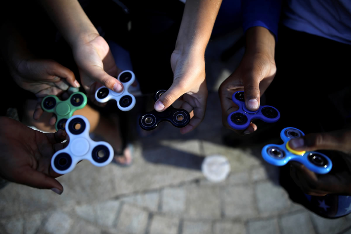 Fidget spinners. Foto: Reuters