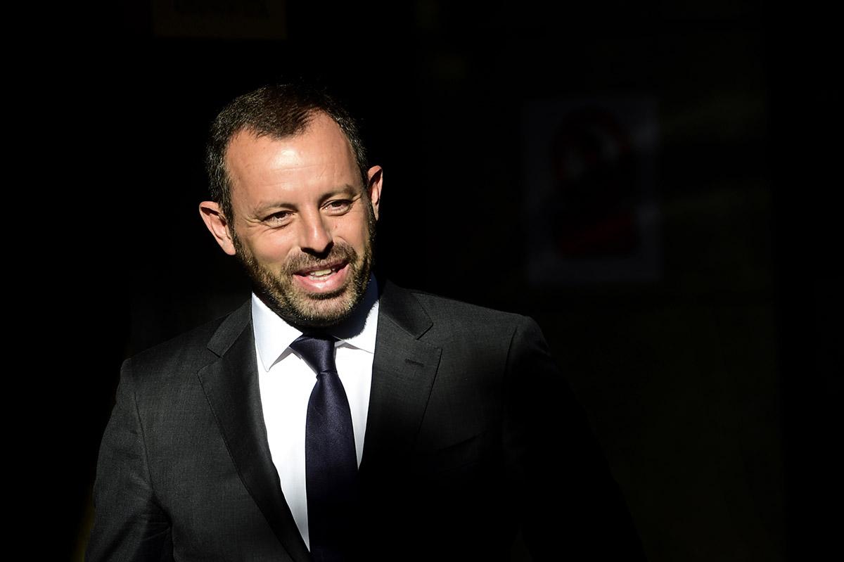 FOTO AFP. Rosell también tiene pendiente el caso de corrupción en el fichaje de Neymar