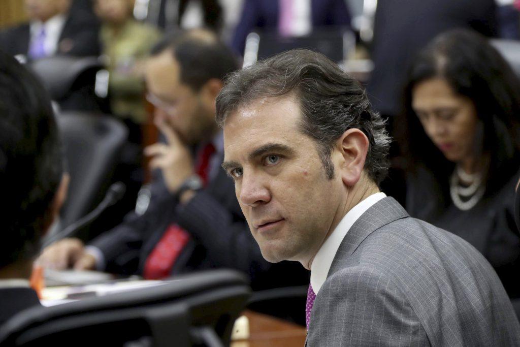 Lorenzo Córdova, consejero presidente del Instituto Nacional Electoral. FOTO: INE /CUARTOSCURO