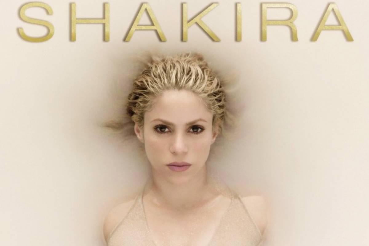 FOTO @shakira Portada del disco El Dorado que saldrá a la venta el 26 de mayo