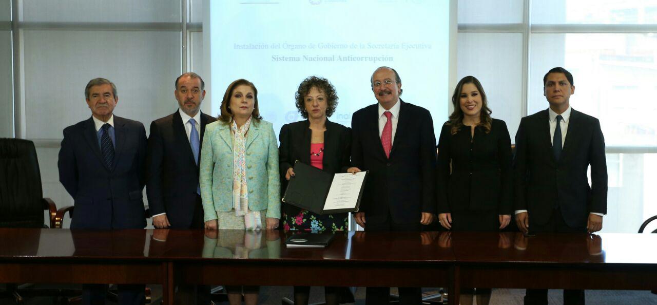 El Comité Coordinador del Sistema Nacional Anticorrupción (CCSNA) nombró a Ricardo Salgado Perrilliat como nuevo secretario técnico
