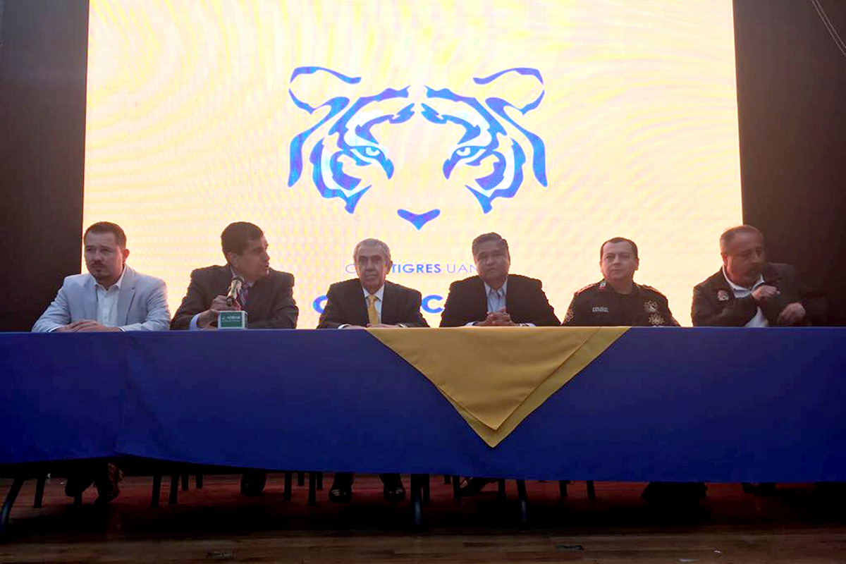 FOTO NOTIMEX. Alberto Palomino, representante legal de Sinergia Deportiva, hizo el anuncio