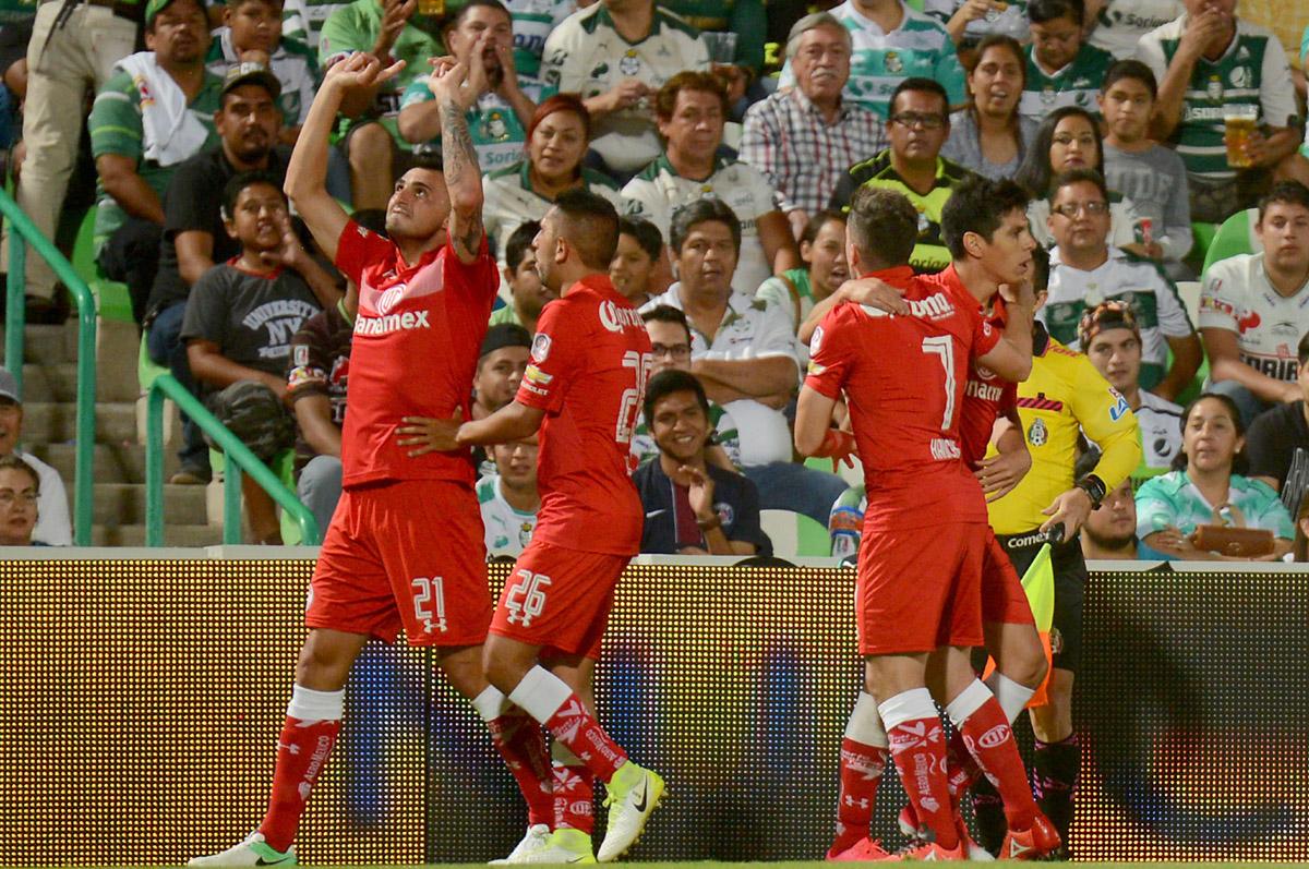 FOTO AFP. Enrique Triverio volvió a marcar después de 6 meses