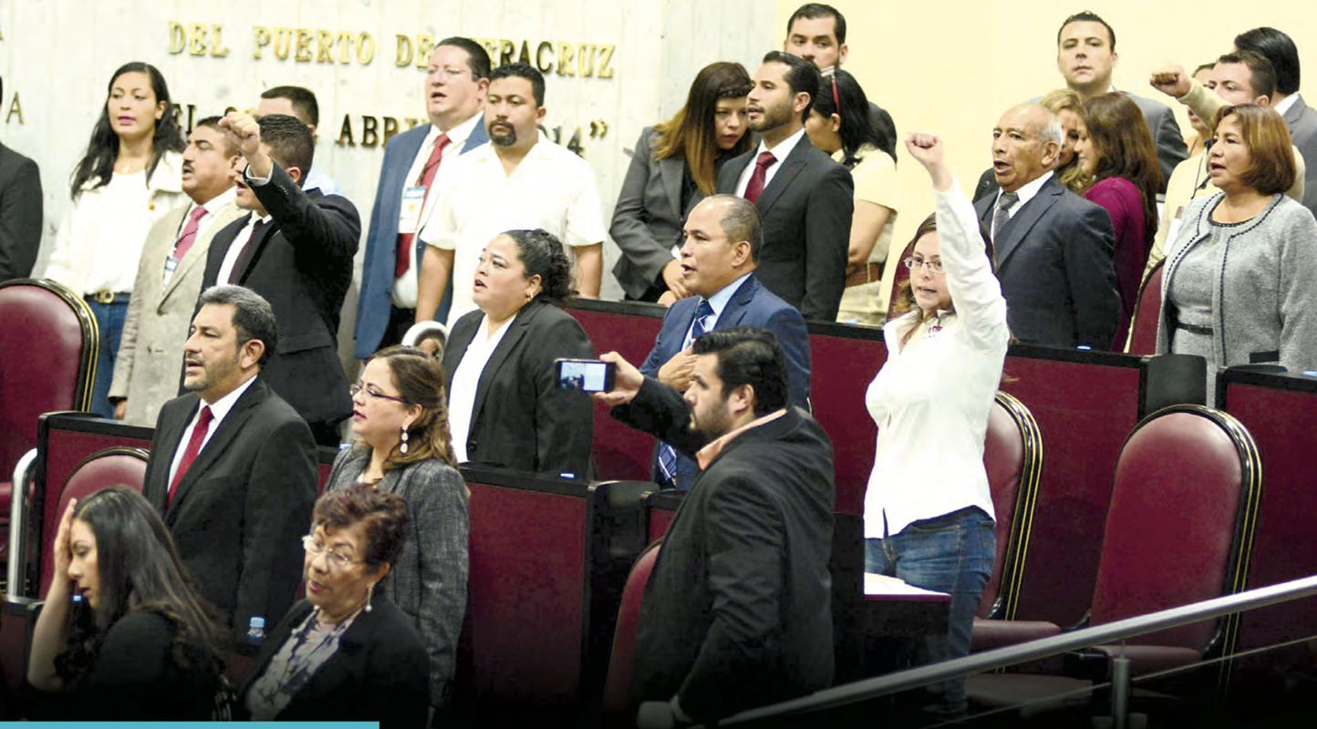 Congreso de Veracruz, paraíso salarial de burócratas