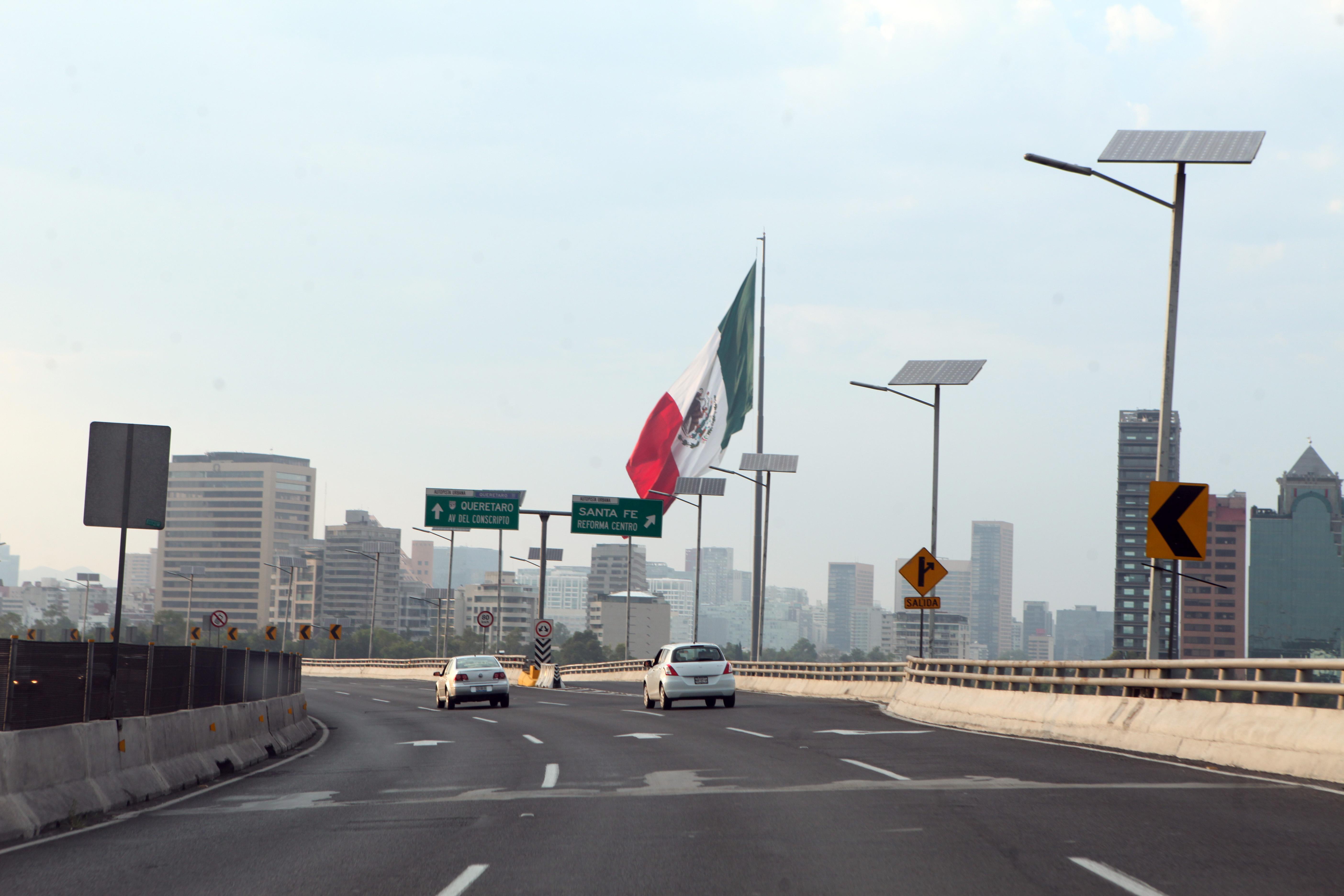 Imagen del sur de la Ciudad de México este miércoles 24 de mayo. FOTO: Yadira García