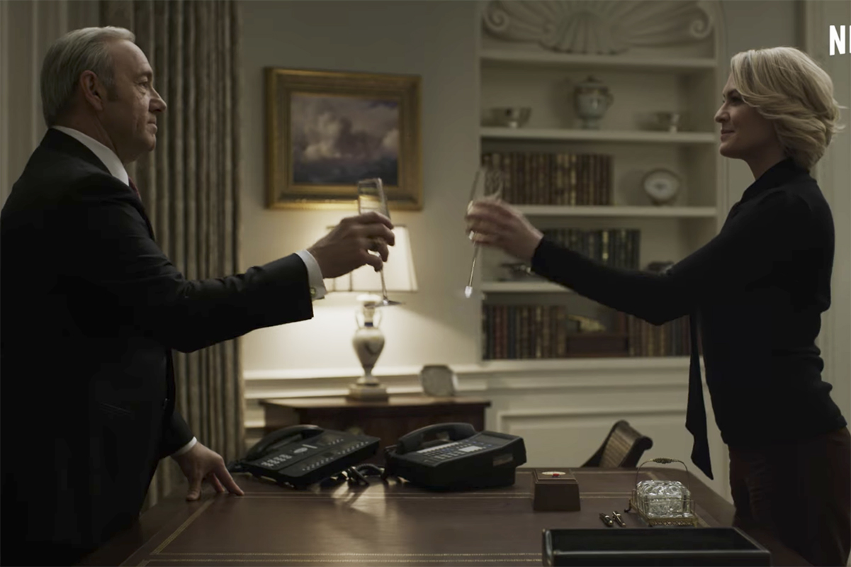 Frank Underwood se embriaga de poder en nuevo trailer de House Of Cards