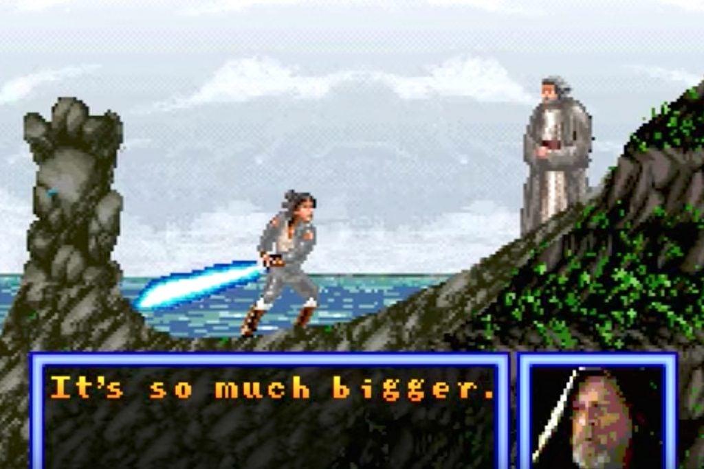 Checa este trailer de The Last Jedi en formato 8-Bit