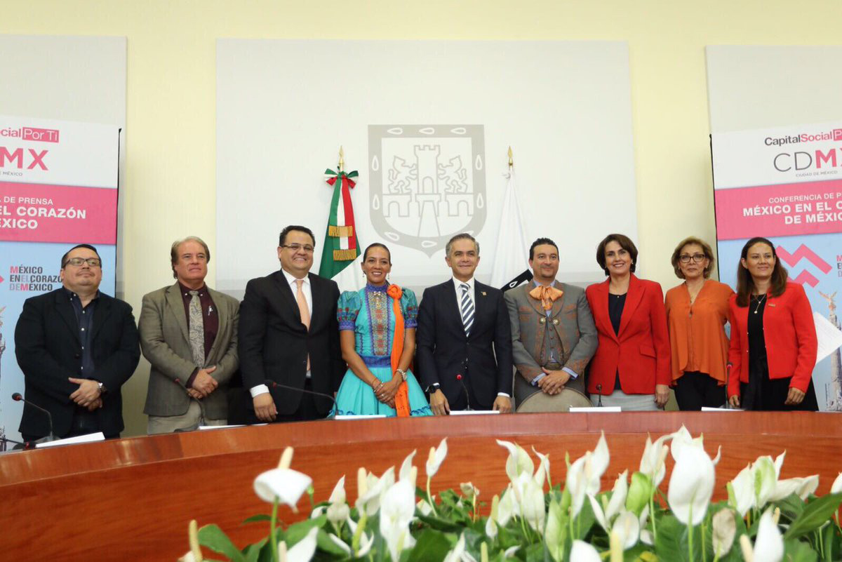 El encuentro es una oportunidad para refrendar la vocación turística de la Ciudad de México. (Foto: @ManceraMiguelMX)