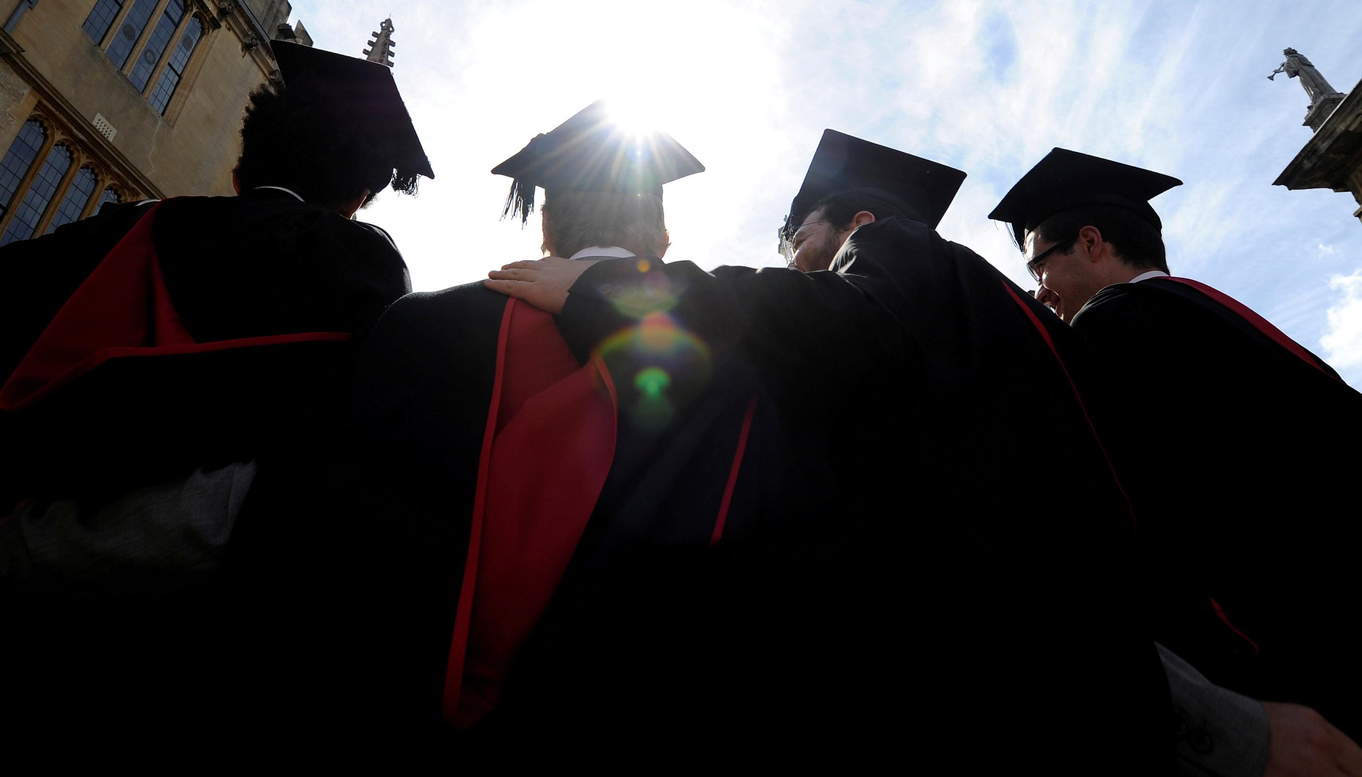 Graduados. Foto: Reuters