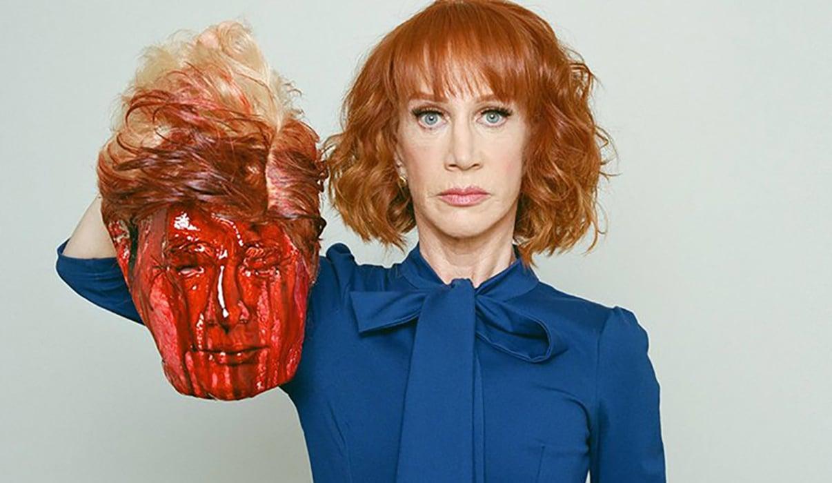 Despide CNN a Kathy Griffin por video de Trump decapitado
