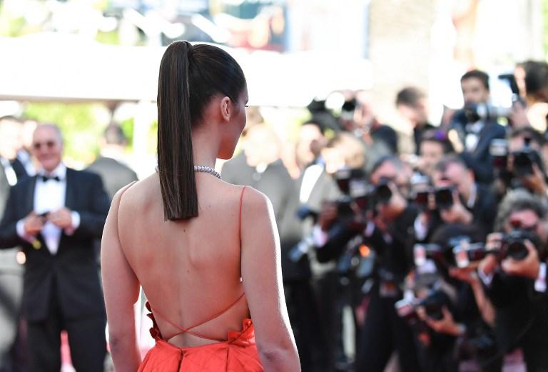 Bella Hadid. Foto: AFP