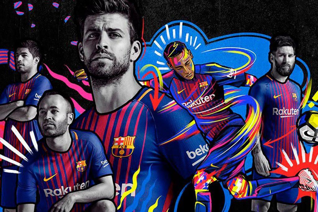 Barcelona presenta su nueva playera