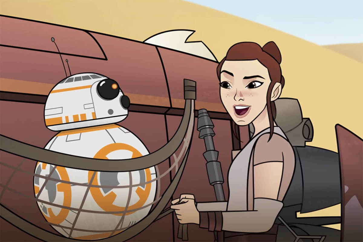 Las mujeres de Star Wars brillan en Forces Of Destiny