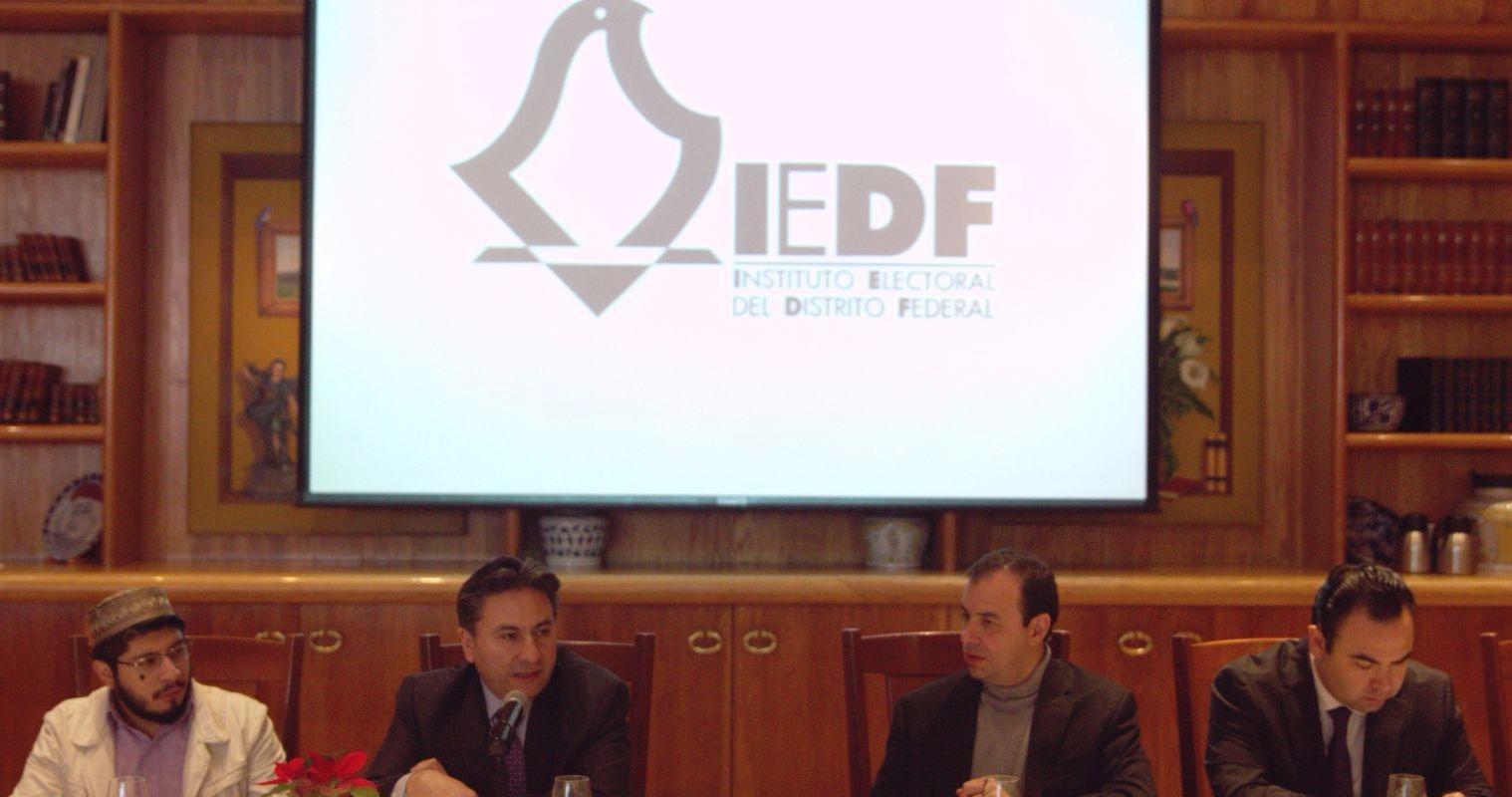 Realiza IEDF estadística para potenciar voto en el extranjero