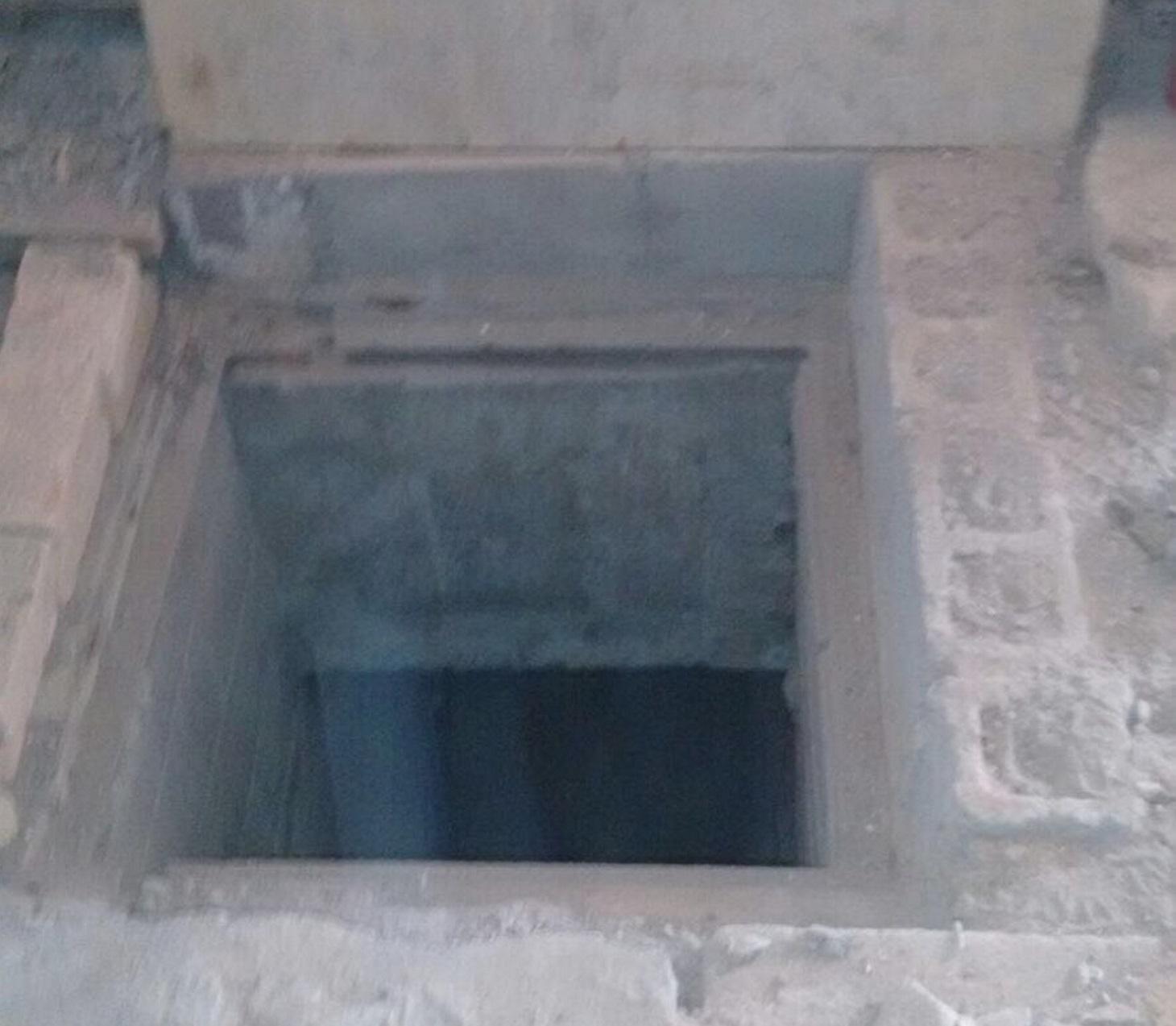 La Policía Estatal localizó  un túnel y excavaciones en el interior del penal de Reynosa. FOTO: NOTIMEX