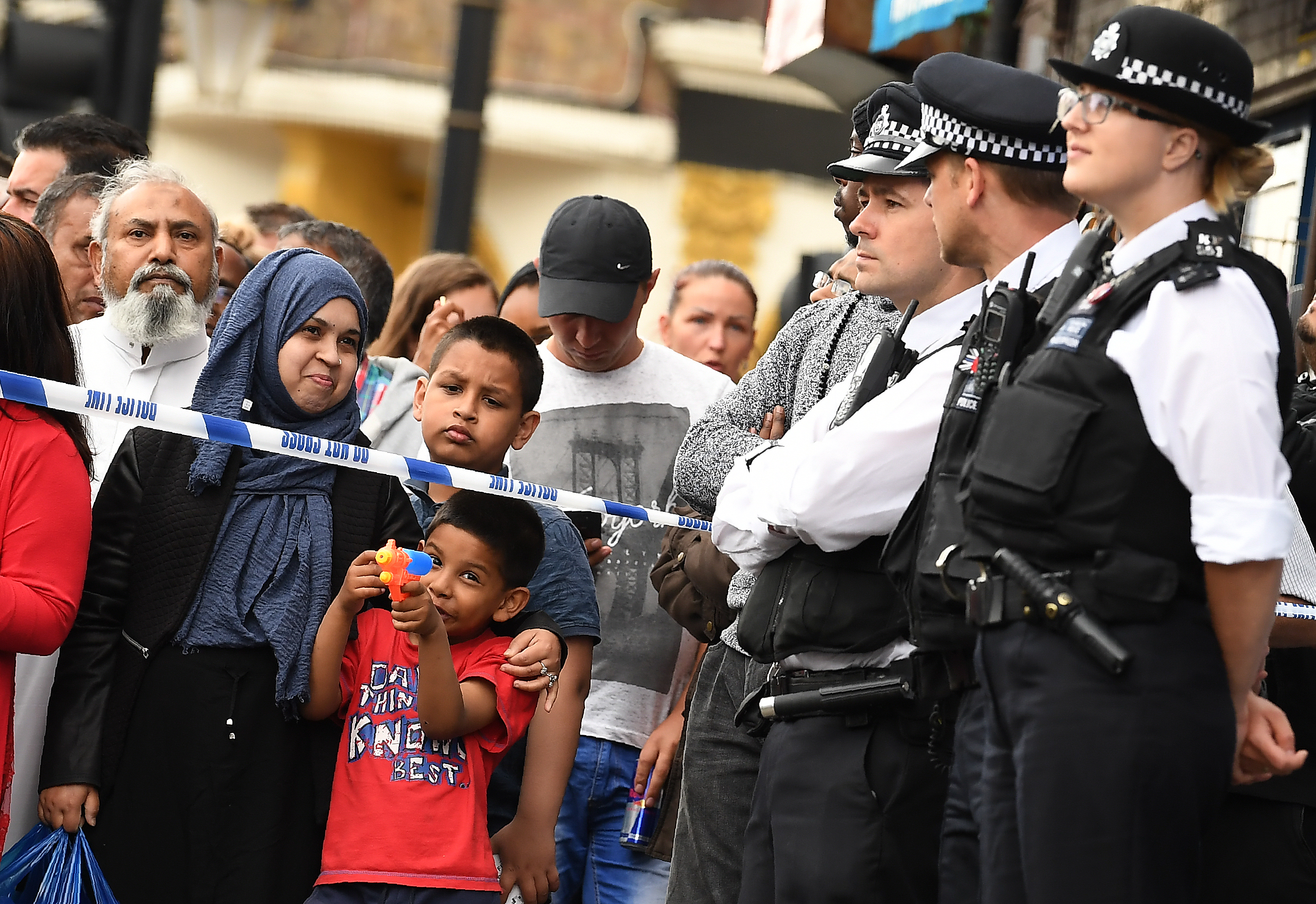 Ataques in Inglaterra. @AFP
