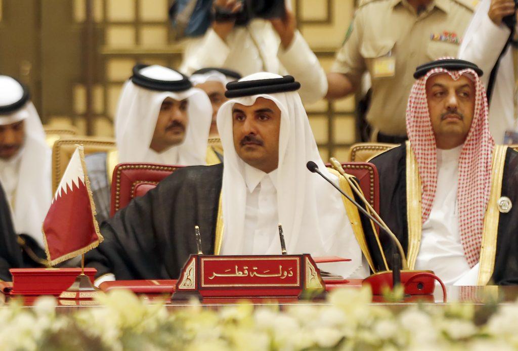 Emir de Catar, Sheikh Tamim bin Hamad al-Thani. AFP.
