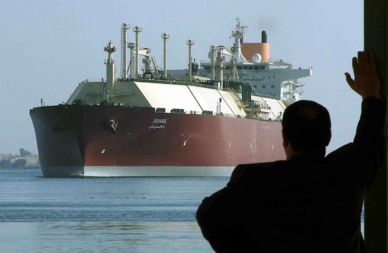 El buque de transporte catarí DUHAIL. REUTERS