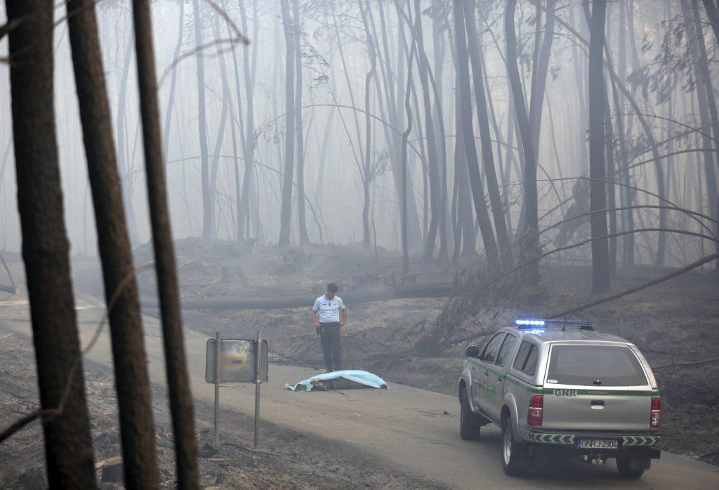 Pedrogao Grande. (AP Photo/Armando Franca),