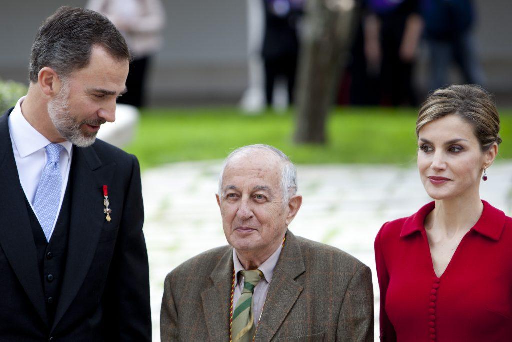 Juan Goytisolo, El Rey Felipe VI y la reina Letizia.