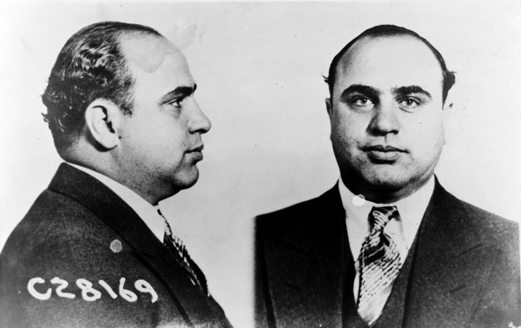 Al Capone CPD; @Wikipedia Commons