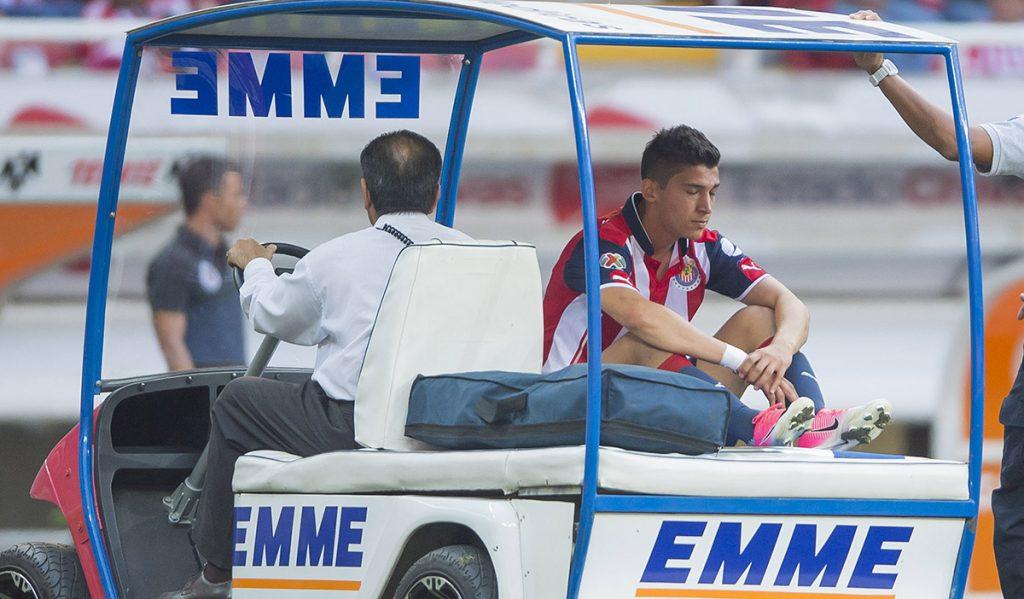 FOTO MEXSPORT. El atacante arrastraba las lesiones desde el torneo Clausura.