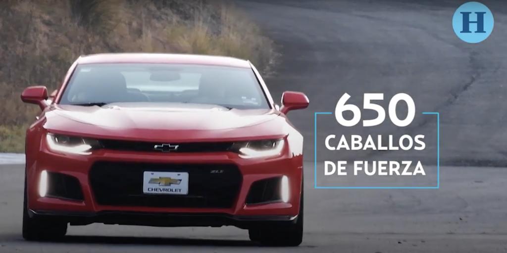 Pusimos a prueba al Chevrolet Camaro, 650 caballos de fuerza