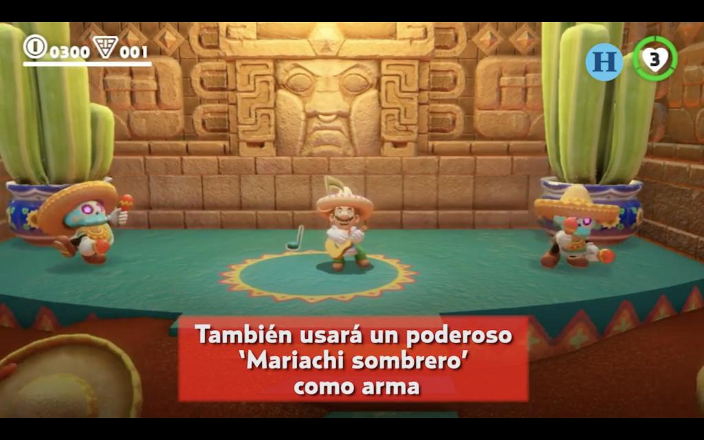 Todo acerca de la visita de Mario a México en Super Mario Odyssey