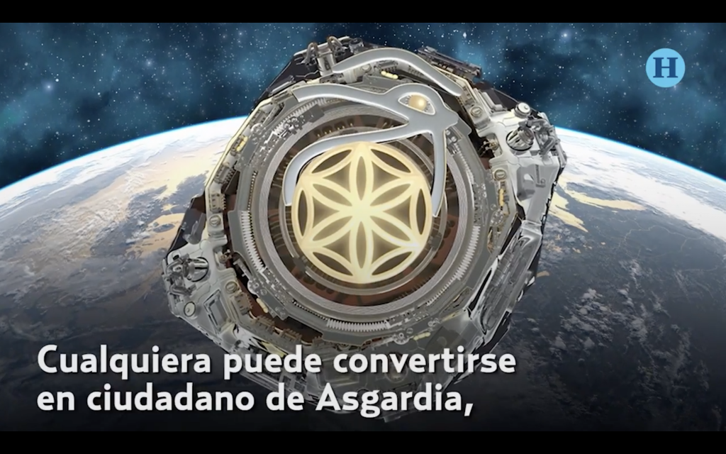 Mexicanos invaden Asgardia, primera nación espacial