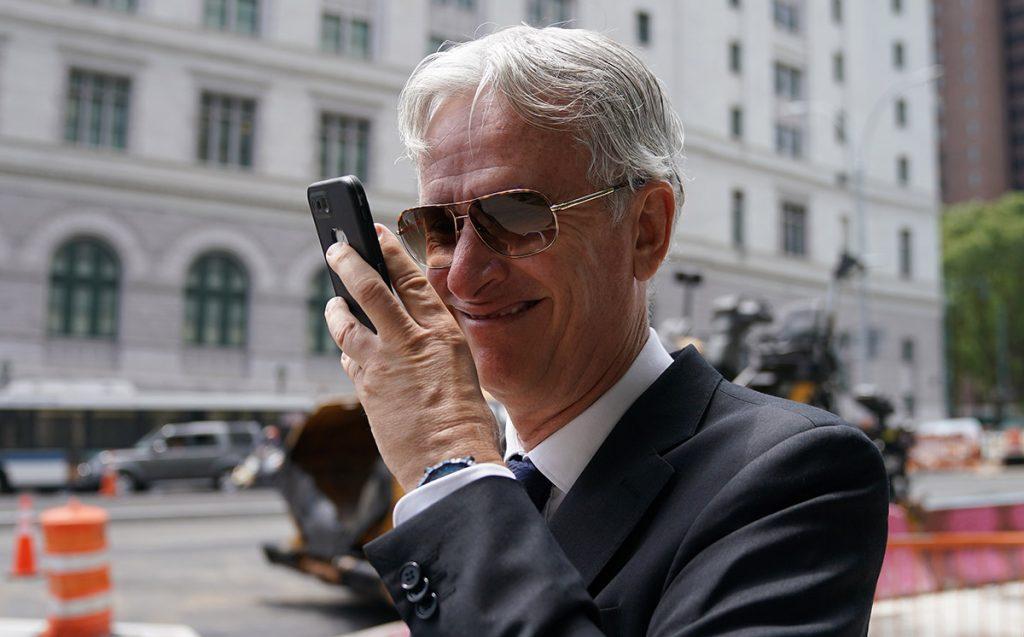 FOTO AFP. El exbanquero podría pasar hasta 20 años en prisión.